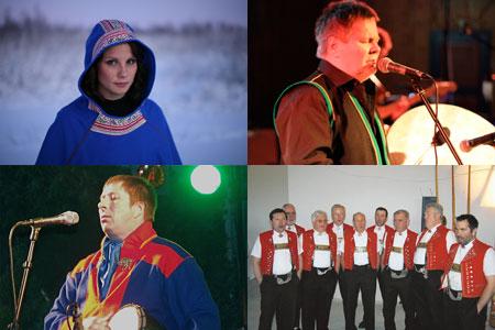 Anne Máddji Heatta, Per Tor Turi, Magnus Vuolab & Bindlischuppel